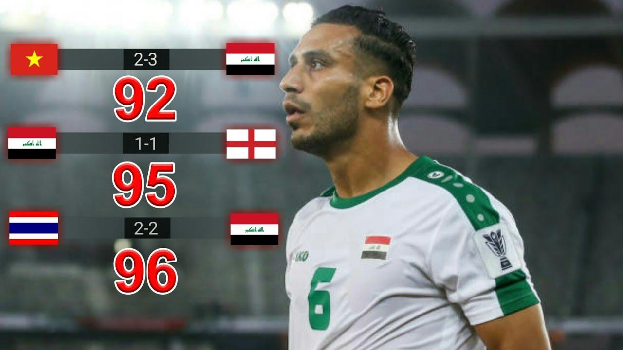 ثلاث مرات علي عدنان يسجل بالدقائق الاخيرة وينقذ العراق ♦ رجل الدقائق الاخيرة