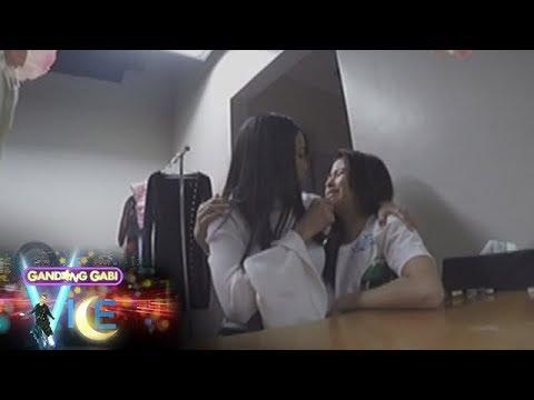 GGV: Kisses Delavin pranks Maymay Entrata