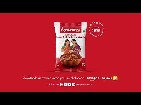Kongunadu Nattu Kozhi Kulambu Masala   Share love. It's contagious.   Annapoorna Masalas & Spices