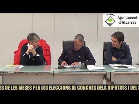 Ajuntament d´Alcarras - DESIGNACIÓ DE MEMBRES DE LES MESES
