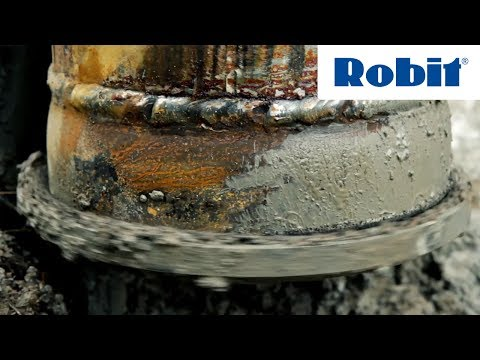 Robit - Pipe-pile-wall Piling in Southern Finland
