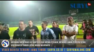 Detik-detik Aremania Tuntut Aji Santoso Mundur Usai Arema FC Gagal Menang Lawan Perseru Serui
