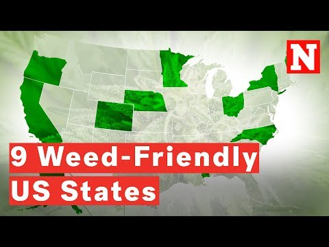 Nine States Where You Can Legally Smoke Weed In The U.S.