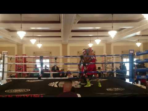 Masai Rasheed vs. Sergio Lopez round 3 June 24th 2017