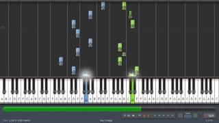 S.A.R.S - Lutka (piano tutorial - Synthesia)