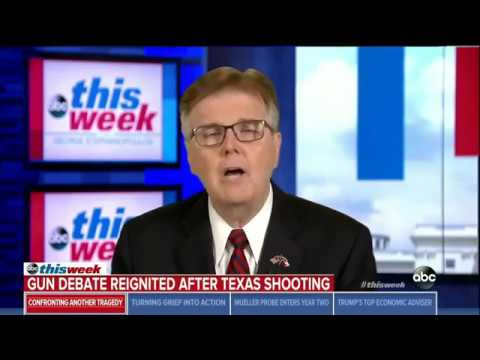 Lt. Governor of Texas, Dan Patrick, blames school shooting on Facebook and violent video games