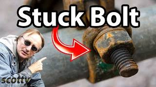 How to Remove Stuck Nuts and Bolts in Your Car - DIY with Scotty Kilmer