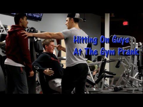 Hitting On Guys At The Gym PRANK