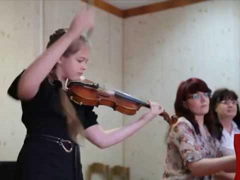 Берио: Балетные Сцены. Исп. Дарья Седых.