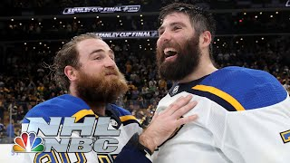 Download NHL Stanley Cup Final 2019: Blues celebrate, discuss Stanley Cup win | NBC Sports Mp3 and Videos