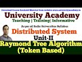 L10:Distributed Mutual Exclusion | Token based algorithms|Raymond Tree Algorithm in hindi