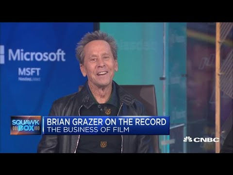 Film legend Brian Grazer on building face-to-face connections