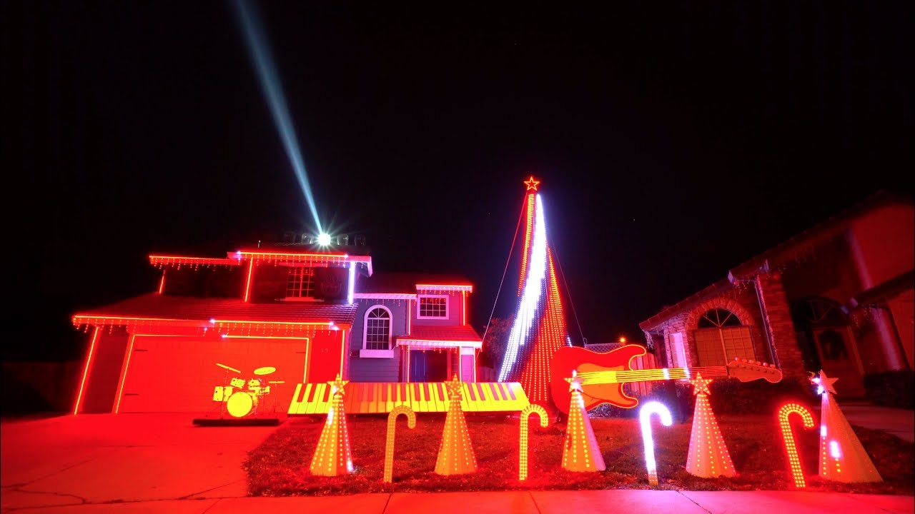Christmas Light Shows Near Me.Best Of Star Wars Christmas Light Show In 4k Tracy Ca