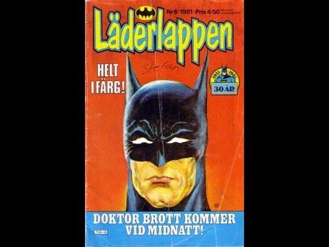 Batman Schwedisch
