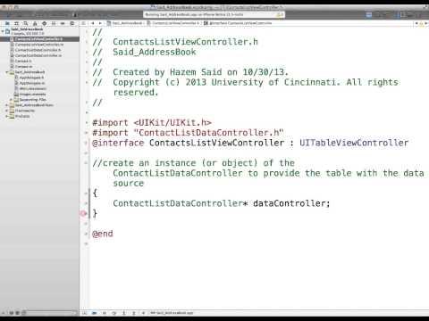 IT1045C Module5 AddressBook 4/7