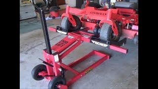 Harbor Freight 750 lb Mower Lift - Assembly and Review only