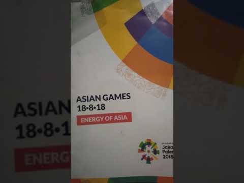Unboxing Uniform Asian Games 2018 Jakarta - Palembang