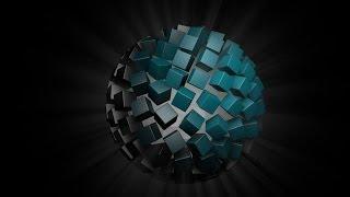 Cinema 4D Tutorial: Color sphere! | Come creare un effetto bellissimo a sfera su C4D!