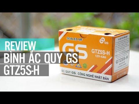 Bình ắc Quy Xe Máy GS GTZ5S-H