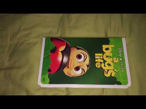 A Bug S Life Vhs Dvd Promo 1999 Videozoos