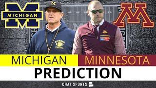 Michigan Football News: #18 Michigan @ #21 Minnesota Prediction, Rumors & Final Score