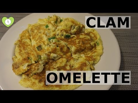 Easy Clam Omelette Recipe