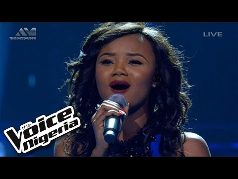 """Grace Mac sings  """"My Heart Will Go On"""" / Live Show / The Voice Nigeria 2016"""