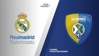Real Madrid - Khimki Moscow region Highlights   Turkish Airlines EuroLeague RS Round 7