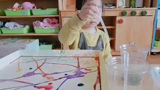 원하윤 초록사과 미술활동