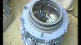 indesit washing machine bearings how to fit change replace