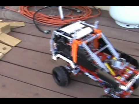 Lego Technic 9398 B Model Alternates Power And Rollover Testing
