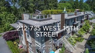 212-735 West 15TH Street, North Vancouver V7M 1T2 MLS R2175311 Scott Warner Realtor