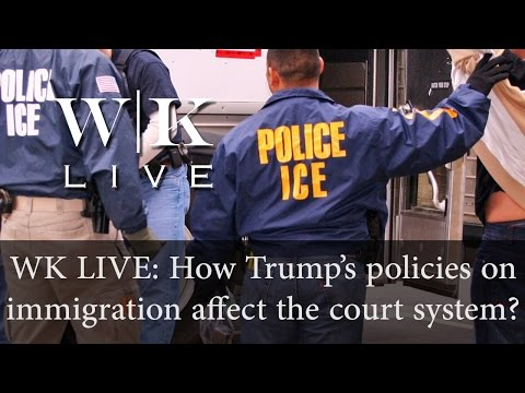 How will Trump's immigration policies impact the criminal justice system?