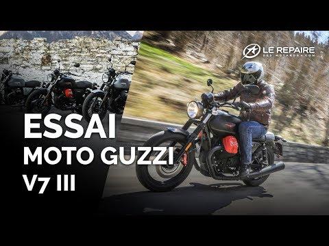 Essai Moto Guzzi V7 III Carbon, Milano & Rough (2018) Mp3