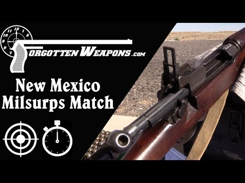 Iron Sights at 800 Yards: New Mexico Milsurps Match!