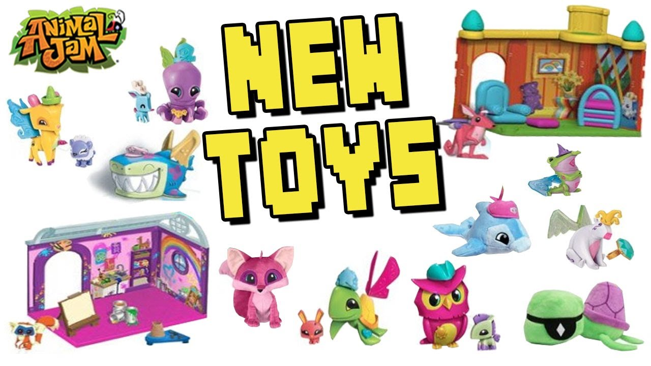 TONS OF NEW ANIMAL JAM TOYS & PROMO ITEMS COMING SOON ...