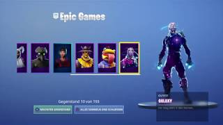 Fortnite finally merched my accounts (Galaxy,ikonic,royale bomber, eon and og reflex) 4000$