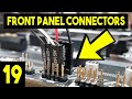 - Front Panel Connectors On Motherboard - Easy Beginners Full PC Building Tutorial - Pt 19