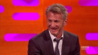 Does Sean Penn ever smile? -The Graham Norton Show on BBC America.