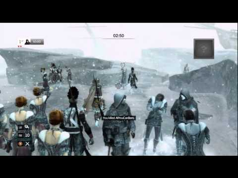 Assassin's Creed 3: Deathmatch - New Outro Songs and I was totally pressing 'X'