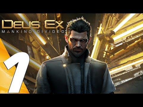 Deus Ex Mankind Divided - Gameplay Walkthrough Part 1 - Prologue [1080P 60FPS ULTRA]