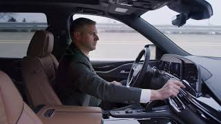 The new 2021 escalade is offered with cadillac's semi-autonomous super cruise driver assistance technology that enables hands-free driving on more than 200,0...
