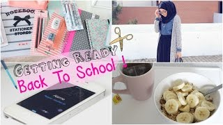Get Ready With Me | BACK TO SCHOOL !