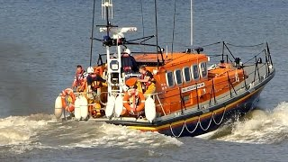 Skegness Lifeboat Launch