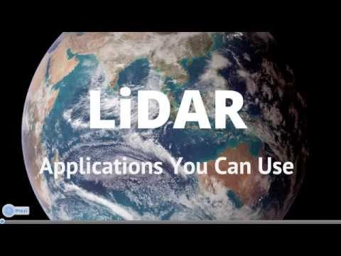 LiDAR Applications You Can Use with Adam Campbell -- June 19, 2013