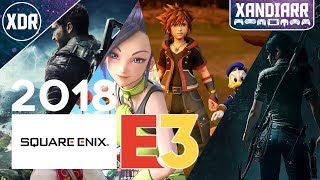 E3 2018 Live Reactions: Square Enix Showcase - Xandiarr