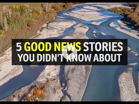 Five good news stories you didnt know about