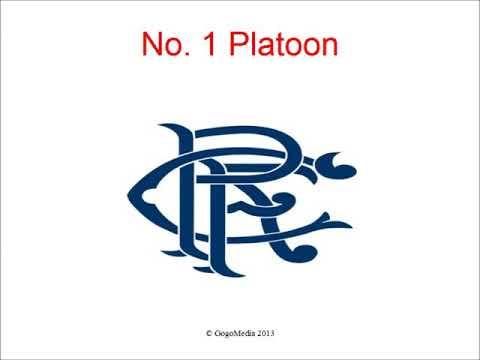 No 1 Platoon With Lyrics - Rangers Song