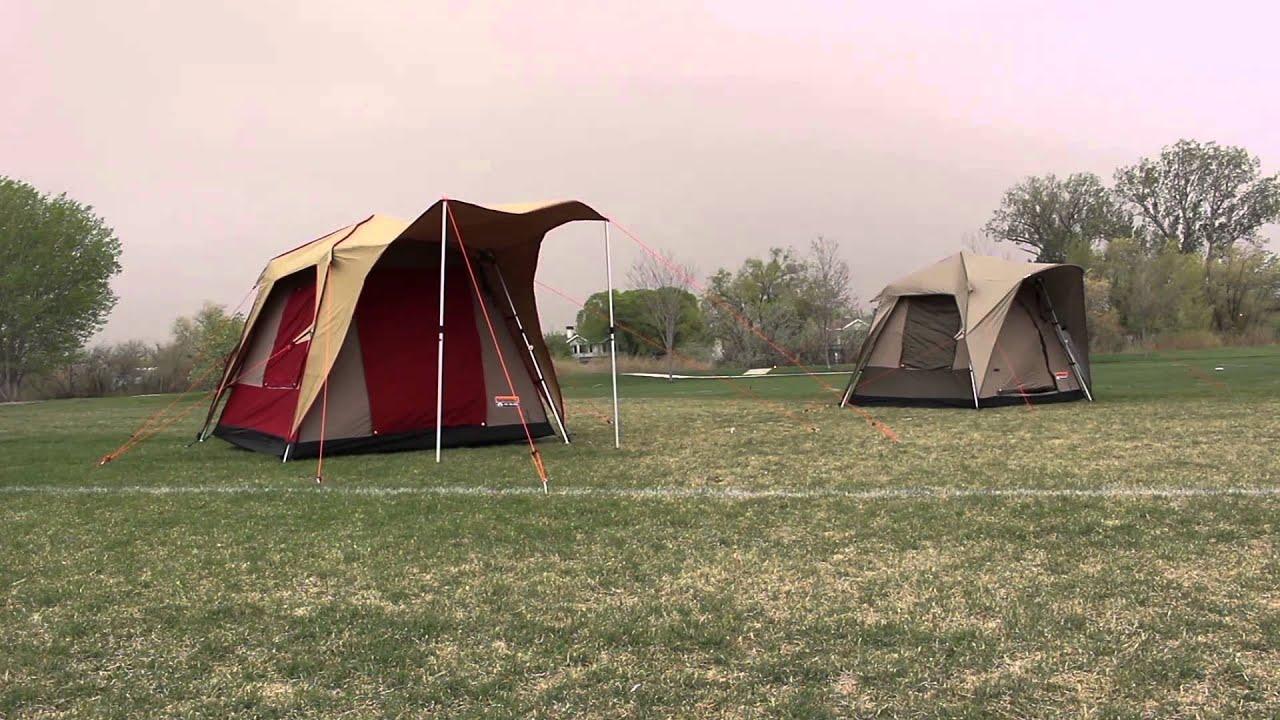 Blackpine Sports Turbo Tents in 60mph+ Wind & Blackpine Sports Turbo Tents in 60mph+ Wind - YouTube