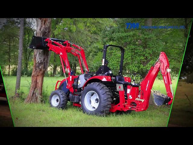 Работает как спинер - трактор Тум